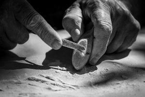 Les Mains à Gilles par Mario Leblanc
